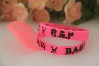 POP Wristband fx SNSD super junior T ara 2NE1 TVFXQ 2PM B1A4 BAP EXO