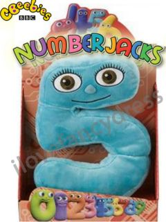NUMBERJACKS 10 INCH BOXED SOFT TOY NUMBER JACK FIVE 5