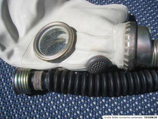 NR.1 Gasmaske masque à gaz RUBBER LATEX SEHR SELTEN Gr. 3 !!!
