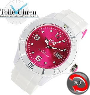Ice Watch Sili White   Pink   Big SI.WP.B.S.10