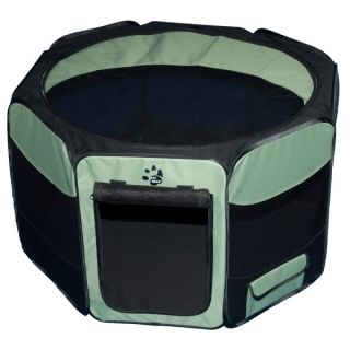 Dog Gates & Exercise Pens Pet Gear Travel Lite Octagon Soft Sided Pet Pen with Removable Top