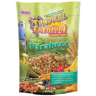Brown's� Tropical Carnival� Fortified Daily Diet Plus ZOO Vital� Biscuits   Food   Bird