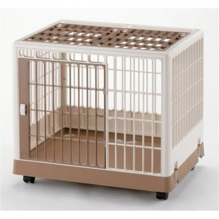 Richell USA Single Door Pet Training Kennel 650 & 830   New Puppy Center   Dog