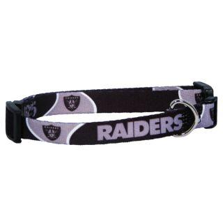 Oakland Raiders Pet Collar   Team Shop   Dog