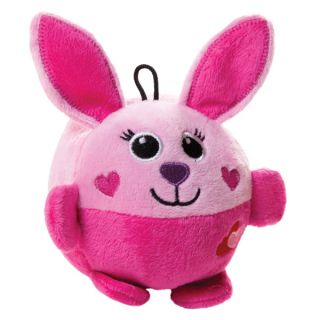 Luv A Pet Ball Body w/Heart Dog Toy   Bunny