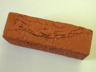 13,91 Euro/m²) Handform Verblender, Klinker Stein rot nuanciert WDF