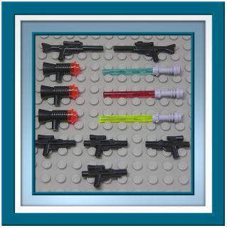 LEGO   12 Original Lego Star Wars Waffen NEUWARE