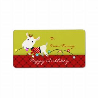 Label Kids Birthday Labels Stickers