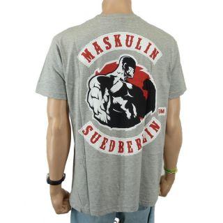 Fler   MSB Band T Shirt, grau meliert