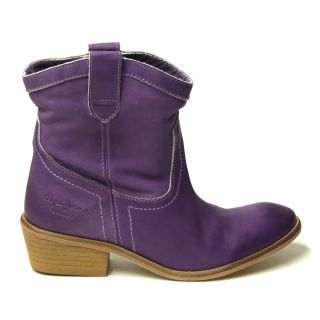 Pepe Jeans London Stiefelette MSS 121B Cow Low Lilac