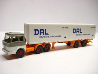 Wiking 521 17 C Hanomag Henschel DAL Container SZG