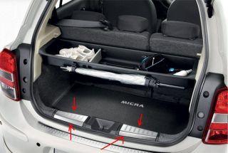 Nissan Micra K13 Ladekantenschutz innen