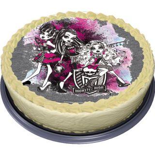 Tortenaufleger Monster High 2 Tortendeko Geburtstag Party Backen 1 St