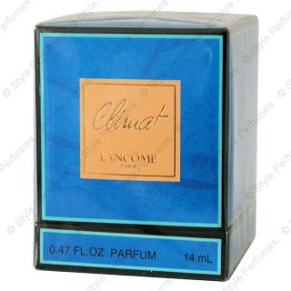 Lancome CLIMAT Parfum 14ml. BRAND NEW, BOXED. SEALED VERY RARE FREE UK