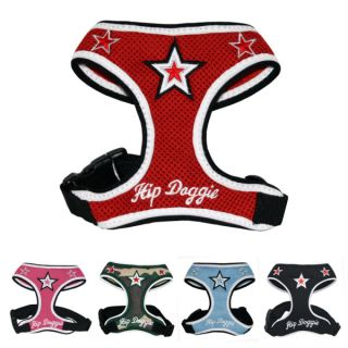 Hip Doggie Super Star Mesh Harness Vest For Dogs   Harnesses   Collars, Harnesses & Leashes