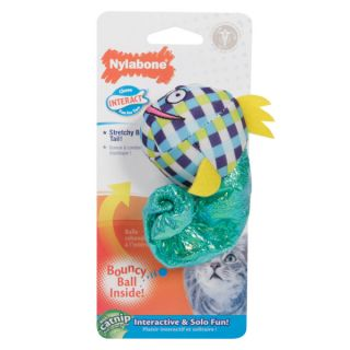 Nylabone� Chase & Interact Bungee Eel Cat Toy   Plush Toys   Toys
