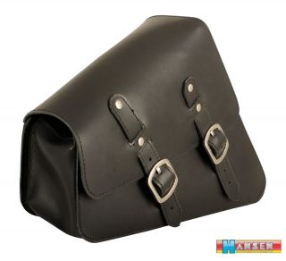 Saddlebag Harley Davidson Sportster Bobber Iron frame solo bag bike