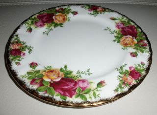 Teller Royal Albert Old Country Roses ,Bone China Porzellan, England
