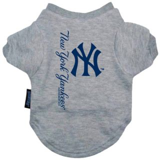 New York Yankees Pet T Shirt   Clothing & Accessories   Dog