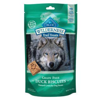 Blue Wilderness Trail Treats Duck Dog Biscuits   Treats & Rawhide   Dog