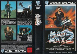 VHS) Mad Max II   Der Vollstrecker   Mel Gibson, Bruce Spence (FSK 18
