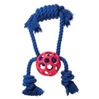JW Pets Hol ee Roller® Tassler Rope Dog Toy   Toys   Dog