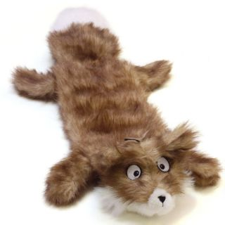 Plush Puppies Squeaker Mat Long Body Real Animal Fox Dog Toy   Toys   Dog