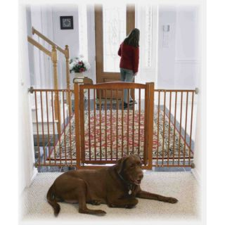 Richell USA Eco Friendly One Touch Pet Gate 150   Dog   Boutique