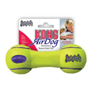KONG&reg AirDog&reg Dumbbell Squeaker Tennis Dog Toy   Toys   Dog