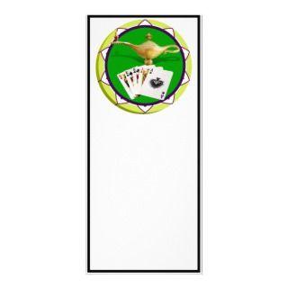 Las Vegas Magic Lamp Poker Chip Rack Card Design