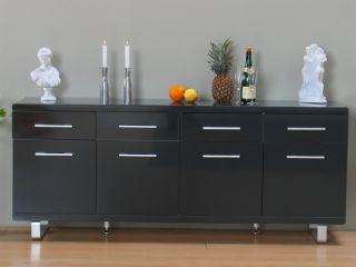 sideboard anrichte kommode antik holz metall industrie. Black Bedroom Furniture Sets. Home Design Ideas