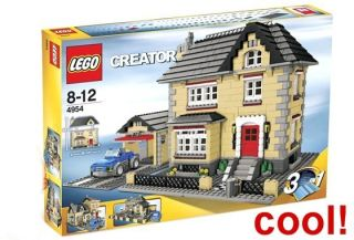 LEGO CREATOR 4954 STADTHAUS HAUS VILLA TOWN HOUSE SELTEN RARITÄT
