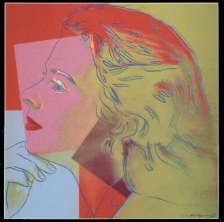 Andy Warhol   Portraits of Ingrid Bergman HERSELF #27