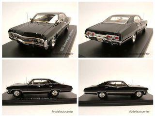 Chevrolet Impala Sedan 1967 schwarz Supernatural Modellauto 1 43 True