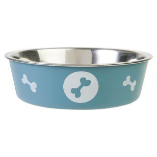Top Paw Bella Dog Bowl   Blue