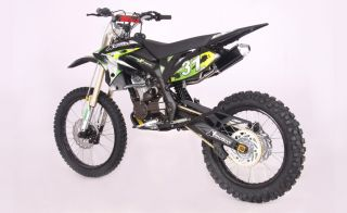 ICS CBF 31FS Enduro Cross Dirt Bike 250cc 4Takt Schwarz