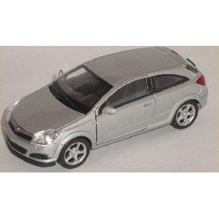 OPEL ASTRA GTC 2007 COUPE SILBER SILVER CA 1/43 WELLY MODELLAUTO