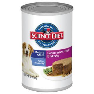 Science Diet Mature Adult Senior Canned Dog Food   Food   Dog