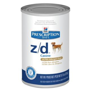 Hill's� Prescription Diet� z/d™ Canine ULTRA Allergen Free Dog Food   Canned Food   Food