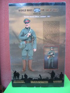 SIDESHOW  WWI GERMAN OFFICER  BARBED WIRE And BAYONETS