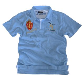MPGT3 viva&eskuda polo society polohemd polo shirt XXL Hellblau