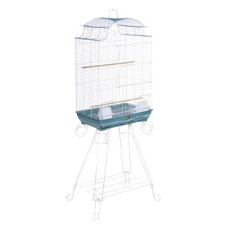 Prevue Pet Products Penthouse Suites Pagoda Roof Bird Cage with Stand   Cages & Stands   Bird