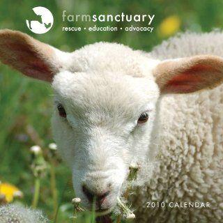 Farm Sanctuary Rescued Animals 2010 Wall Calendar Farm