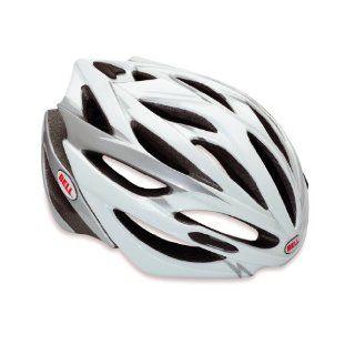 Bell Rennradhelm Array white/silver Sport & Freizeit