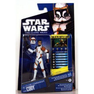 Star Wars 2010 Clone Wars Animated Action Figure CW No. 03 Commander