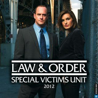 Law & Order SVU 2012 Wall Calendar NBC/Universal