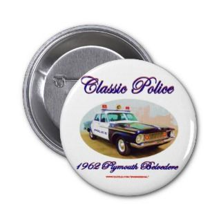 Classic Police1962 Plymouth Belvedere Pins