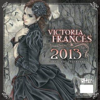 Art of Victoria Frances 2013 Calendar Heavy Metal Magazine