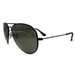 Ban Sonnenbrille Aviator 3025 002 37 Black Silver Mirror 58mm