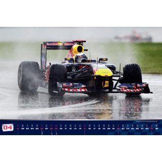 Kalender 2012 Sebastian Vettel Red Bull Racing Formel 1 Wandkalender